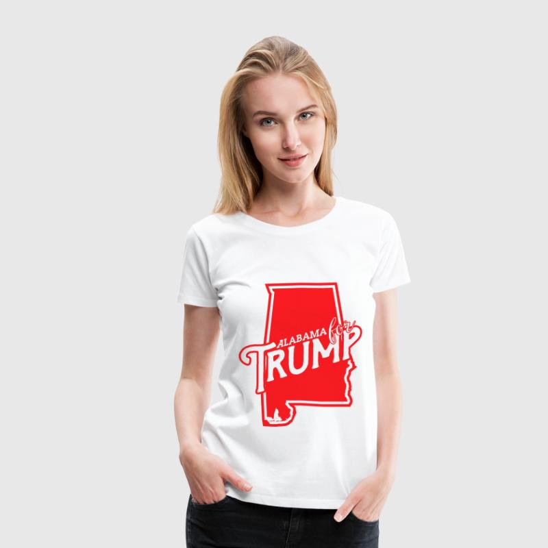 Alabama for Trump - Women's Premium T-Shirt