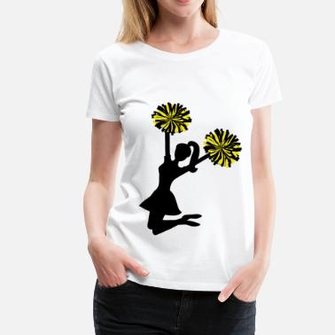 Pompe cheerleader - Women's Premium T-Shirt