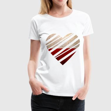 Poland Heart - Women's Premium T-Shirt