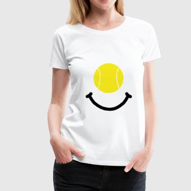 Tennis Smile - Women's Premium T-Shirt