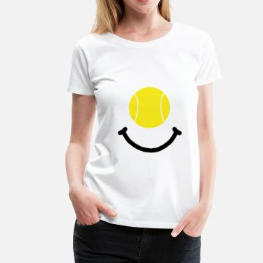 Usta Tennis Smile - Women's Premium T-Shirt