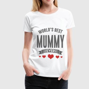 MUMMY.png - Women's Premium T-Shirt