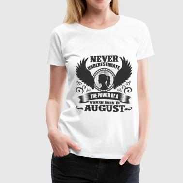 AUGUST WO 1.png - Women's Premium T-Shirt
