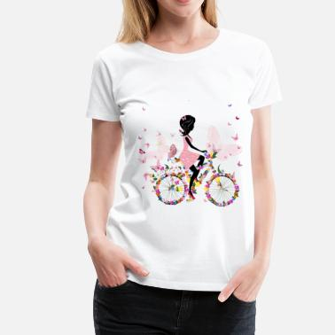 Bike Parts Bicycle Dismantled Funny Womens Ladies T-Shirt