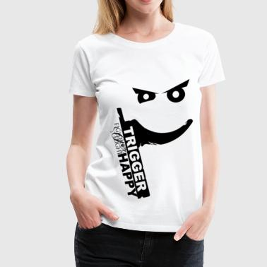 2a TriggerHappy.png - Women's Premium T-Shirt