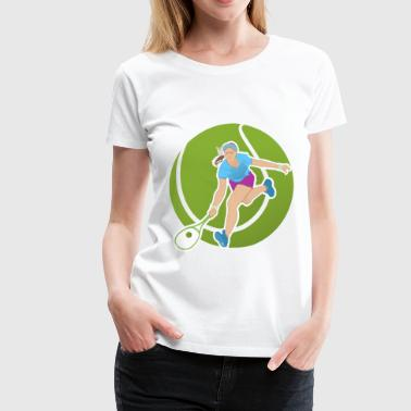 Tennis 6 - Women's Premium T-Shirt