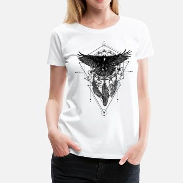 Mythical AD Crow - Women's Premium T-Shirt