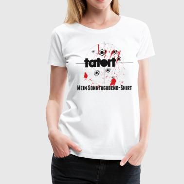 Tatort - Women's Premium T-Shirt