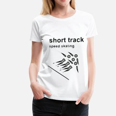 Speedometer short track speed skating winter games 2reborn - Women's Premium T-Shirt