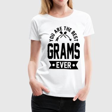 grams 1aaaa.png - Women's Premium T-Shirt