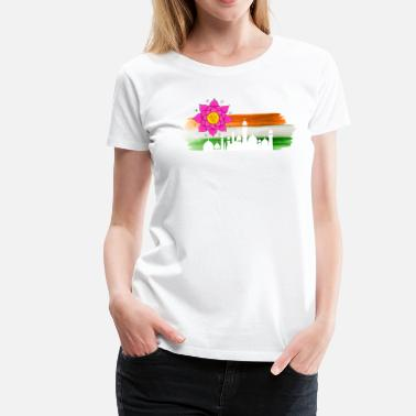 India Yoga India - Women's Premium T-Shirt