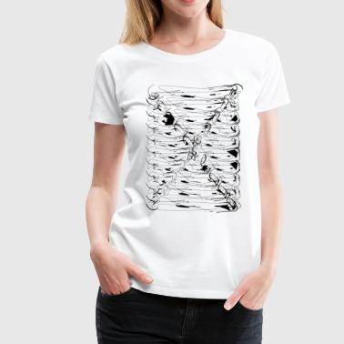 Design 12 - 4 black - Women's Premium T-Shirt