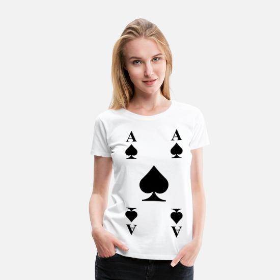 Cards T-Shirts - Cards - Women's Premium T-Shirt white
