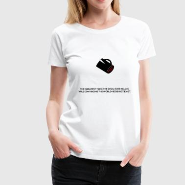 Devil´s greatest trick - The Usual Suspects Quote - Women's Premium T-Shirt