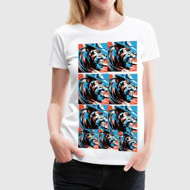 leo collage  - Women's Premium T-Shirt