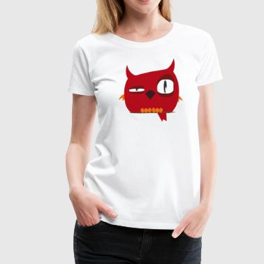 Bird Red - Women's Premium T-Shirt