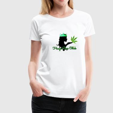 Hemp Boss Chick - Women's Premium T-Shirt