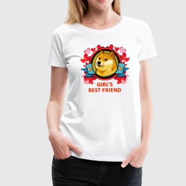 Doge Girl's Best Friend - Women's Premium T-Shirt