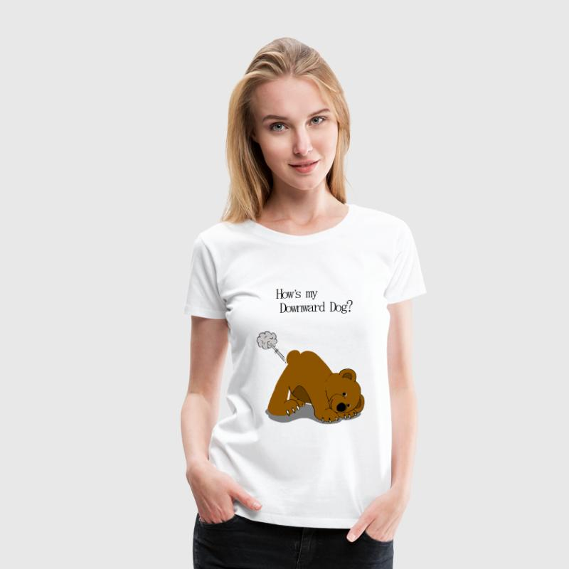 Yoga Bear - Women's Premium T-Shirt