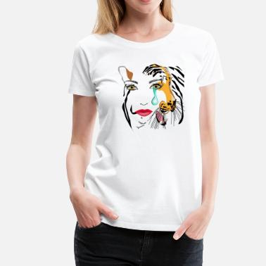 Save The Sharks Save Tigers - Women's Premium T-Shirt