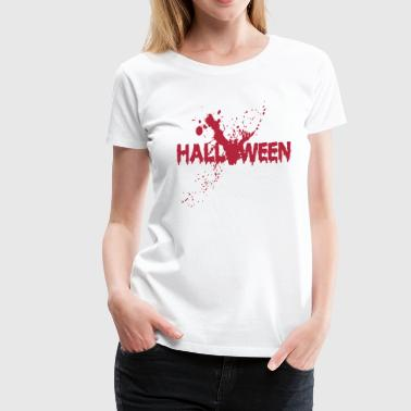 Halloween - Massacre - Blood - Horror - Death - Women's Premium T-Shirt