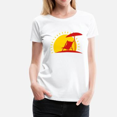 Sun Bathing sun bathing - Women's Premium T-Shirt