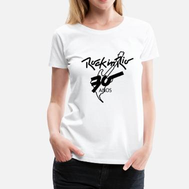 Rock In Rio RIO ROCK - Women's Premium T-Shirt