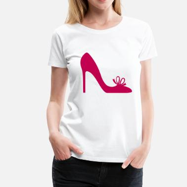 Highheeled Shoes Shoe Highheels - Women's Premium T-Shirt