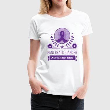 Pancreatic Cancer Awareness - Women's Premium T-Shirt