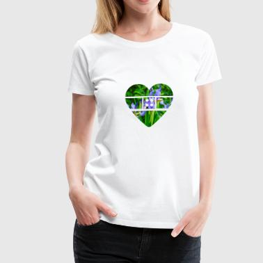 Bandaged heart - Women's Premium T-Shirt