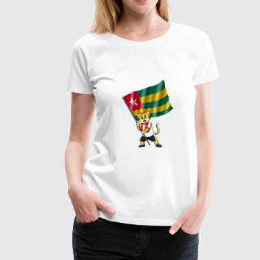 Togo fan cat - Women's Premium T-Shirt
