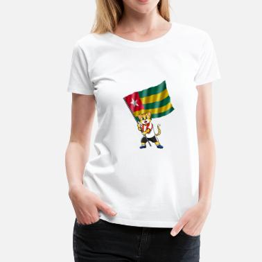 Togo Togo fan cat - Women's Premium T-Shirt