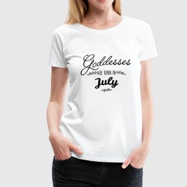 July Goddesses - Women's Premium T-Shirt