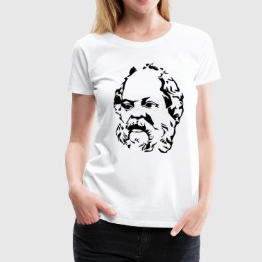 Design Philosophy Socrates - Women's Premium T-Shirt