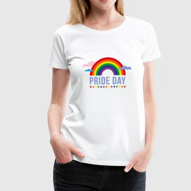 Rainbow - Pride Day - Women's Premium T-Shirt