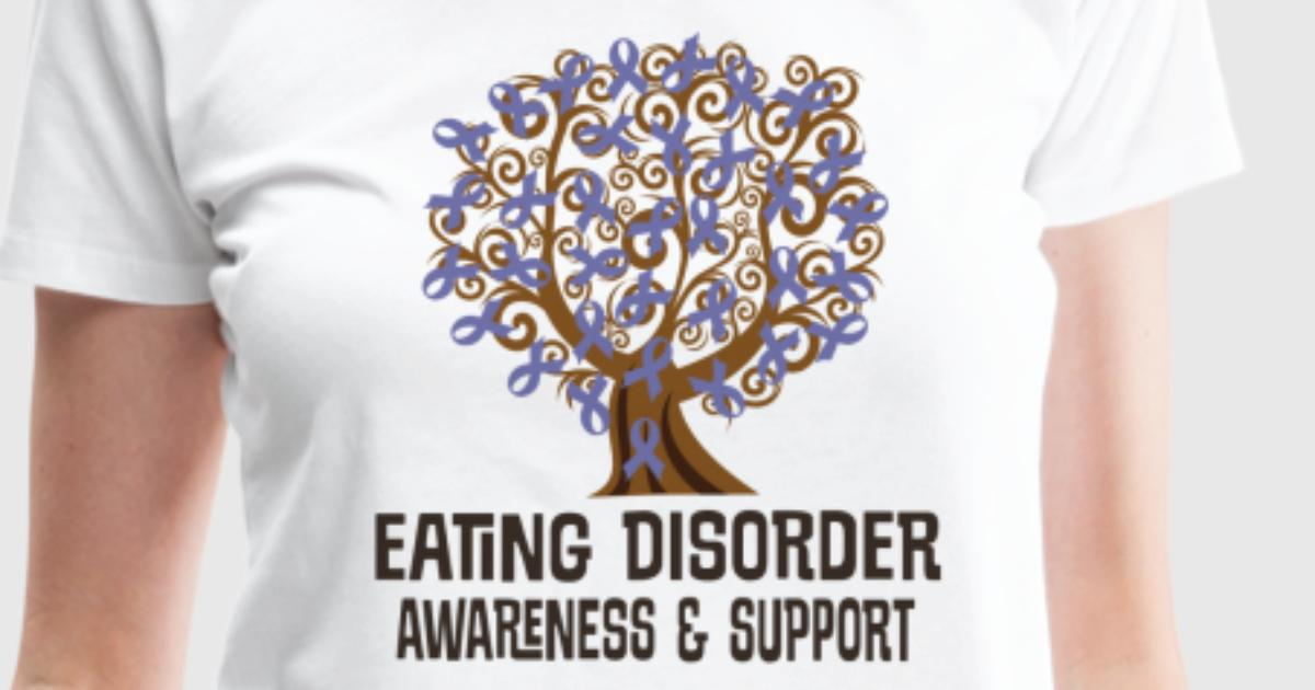 Eating Disorder Awareness Ribbon Tree By Homewiseshopper Spreadshirt