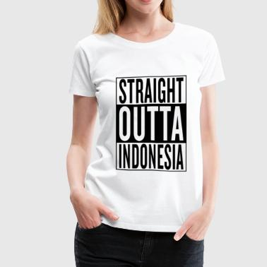 Indonesia - Women's Premium T-Shirt