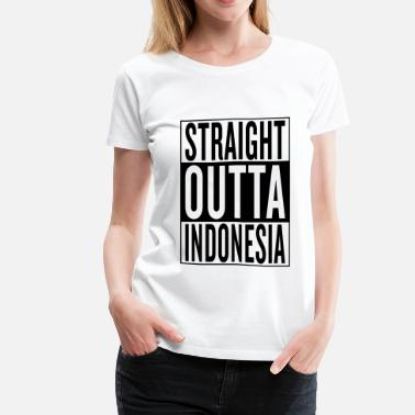 Funny Indonesia Indonesia - Women's Premium T-Shirt