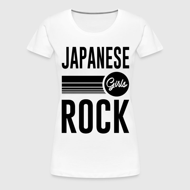 JAPANESE GIRL 1.png - Women's Premium T-Shirt