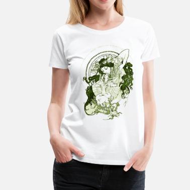 f4a36cbc2 Mucha Vintage Art Goddess - Women's Premium ...