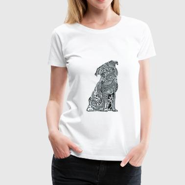 LOVE PUGS - Women's Premium T-Shirt