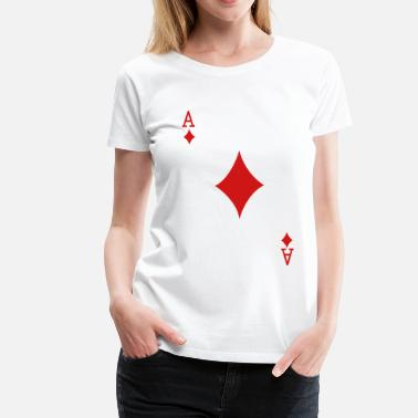 Ace Family Ace Playing Card - Women's Premium T-Shirt