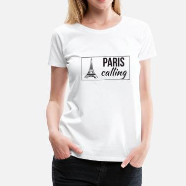 Paris Paris Calling Black - Women's Premium T-Shirt