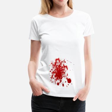 Blood Print blood - Women's Premium T-Shirt
