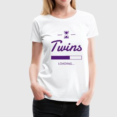 Twins Loading - Women's Premium T-Shirt