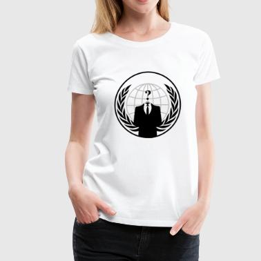 Anonymous Logo - Women's Premium T-Shirt