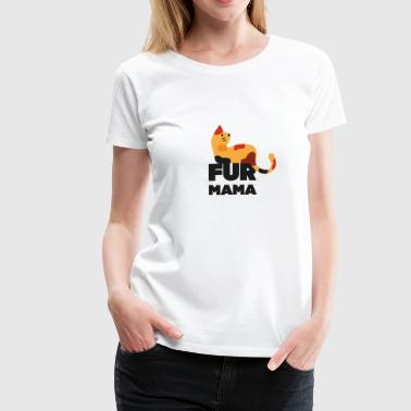 fur mama - Women's Premium T-Shirt