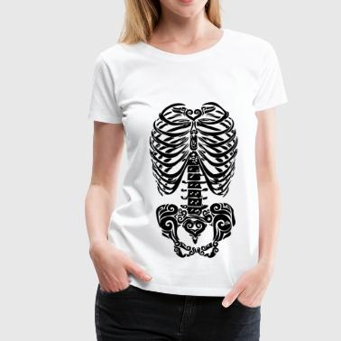 skeleton - Women's Premium T-Shirt