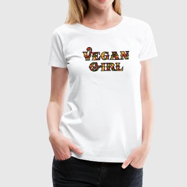 Vegan Girl - Women's Premium T-Shirt
