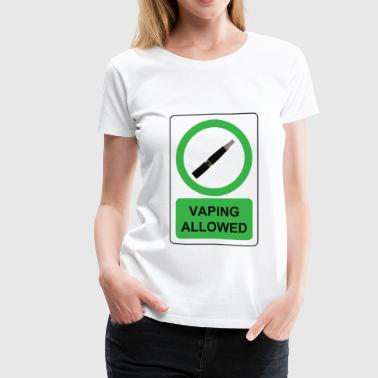 Vaping  - Women's Premium T-Shirt